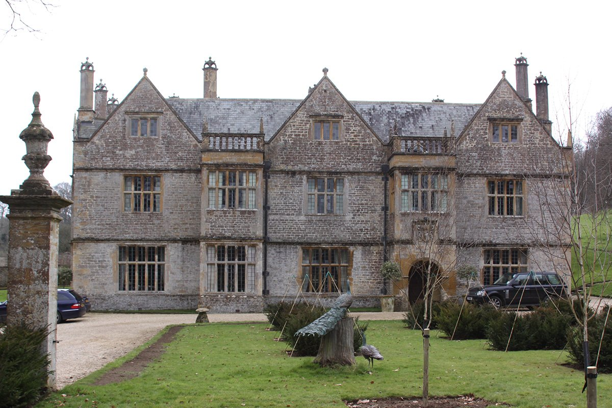 Old country estate
