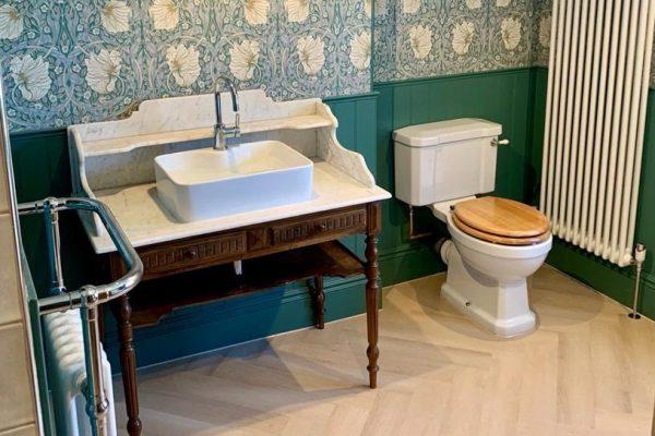 finished bathroom refurbishment